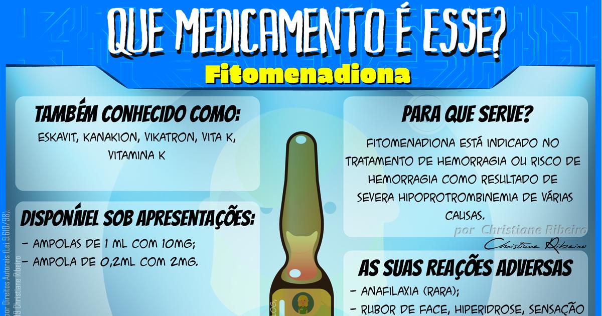 Que Medicamento é Esse?: Fitomenadiona