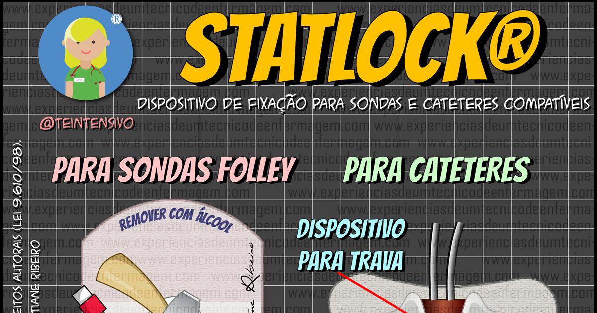 Statlock: Dispositivo para Fixação de Cateteres