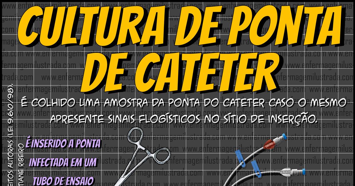 A Cultura da Ponta do Cateter: Infecções Relacionadas